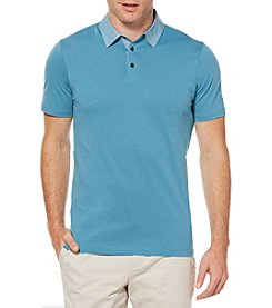 Perry Ellis® Men's Short Sleeve Chambray Polo