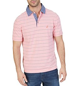 Nautica® Men's Short Sleeve Yard Stripe Polo Shirt