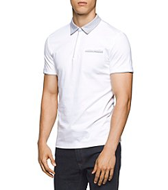 Calvin Klein® Men's Liquid Jersey Polo Shirt