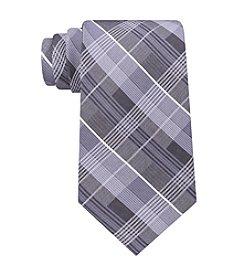John Bartlett Men's Light Plaid Tie