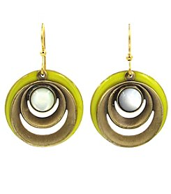 Silver Forest® Multi Round Shapes Earring