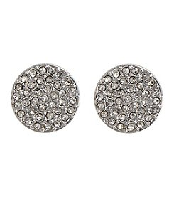 Vera Bradley® Pave Disc Stud Earrings