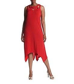 Madison Leigh® Plus Size Asymmetrical Maxi Dress