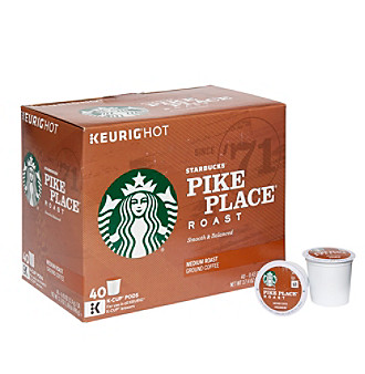 Keurig K-Cup Starbucks Pike Place 40-pk. One Size