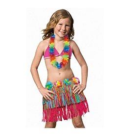 BuySeasons Child Rainbow Hula Skirt