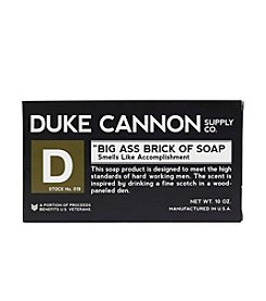 Duke Cannon Supply Co Big A.. Brick Of Soap - Accomplishment, 10 oz.