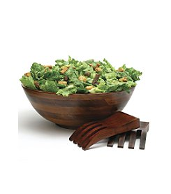 Lipper International 3-pc. Cherry Salad Bowl Set