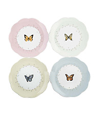 Lenox® Butterfly Meadow® Set of 4 Dessert Plates