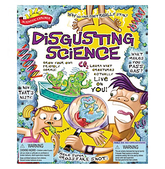 Scientific Explorer® Disgusting Science Kit