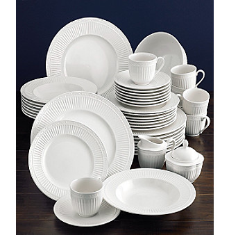 UPC 641265413701 product image for MIKASA Italian Countryside 45 Piece Dinnerware Set - WHITE | upcitemdb  sc 1 st  UPCitemdb.com & UPC 641265413701 - Mikasa Italian Countryside 45-pc. Dinnerware Set ...