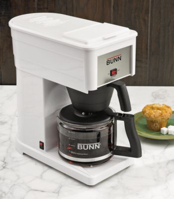 Bunn Coffee Maker Not Enough Water : Big Deal Special Promo: Hot Promo Bunn GRX-W Original 10-Cup Home Coffee Brewer -White Comparing ...
