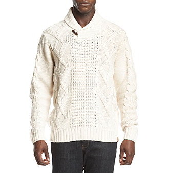 b2affb9b0dbeac UPC 645618278160 product image for Weatherproof Vintage Men's Fisherman  Cable Sweater | upcitemdb.com ...