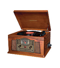 Crosley® CR42 Paprika Lancaster Entertainment Center