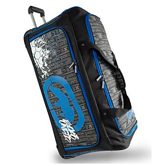 Ecko Unltd. Tagger Large Rolling Duffel Bag -  EK-WD-2732-BKRD