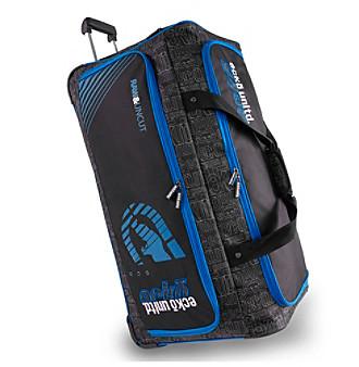Ecko Unltd. Blacktop Rolling Duffel Bag -  EK-WD-A632-RDBK