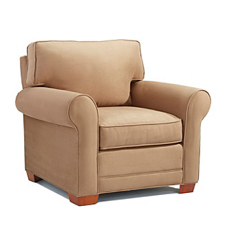 HM Richards Khaki Microfiber Living Room Furniture Collection Chair
