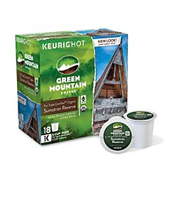 Keurig Green Mountain Coffee® Sumatran Reserve 18-pk. K-Cup® Portion Pack