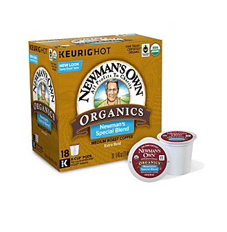Newman's Own Organics The Second Generation Newman's Special Blend Extra Bold 18-pk. K-Cup® Portion Pack