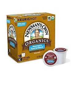 Keurig Newman's Own Organics The Second Generation Newman's Special Blend 18-pk. K-Cup® Portion Pack
