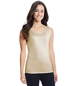 Notations® Sleeveless Shell
