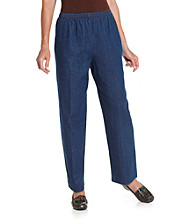 Briggs New York® Petites' Pull-On Denim Pants