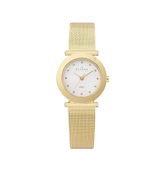 goldtone mesh watch