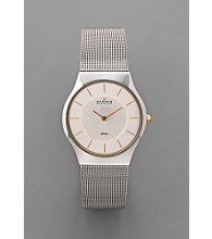 Skagen Denmark Men's Two-Tone Mesh Steel Watch