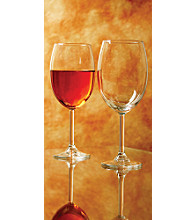 LivingQuarters 4-Pack Tall Wine Glasses