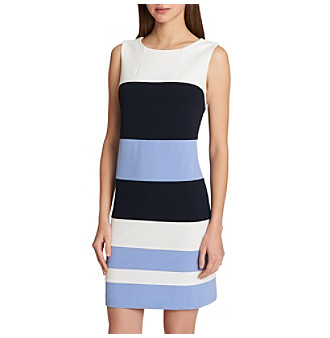 f4ff4fc64694c6 UPC 192114927424 product image for Tommy Hilfiger Colorblock Sheath Dress