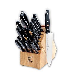 J. A. Henckels International Twin Signature 19-Piece Knife Block Set