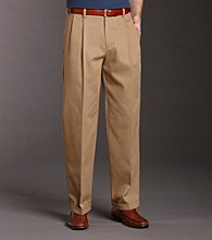Izod® Men's Classic Fit Pleated American Chino