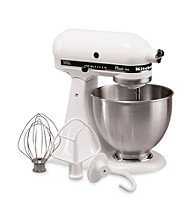 KitchenAid® 4.5-qt. White Classic Plus Stand Mixer + $30 Mail-In Rebate