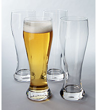 LivingQuarters Set of 4 Beer Stein Glasses