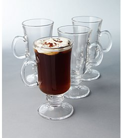 LivingQuarters 4-pk. Irish Coffee Glassware Set