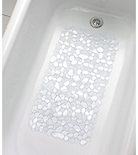 InterDesign® Pebble Bath Mat - Clear