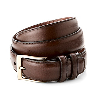 Perry Ellis Portfolio® Men's Madras 32MM Belt - Chocolate