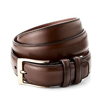 Perry Ellis Portfolio® Men's Madras 32MM Belt - Chocolate