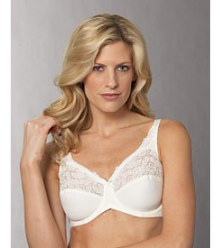 Lilyette® Lace-trimmed Tailored Minimizer Bra