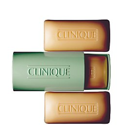 Clinique 3 Little Soaps with Travel Dish - Oily Skin