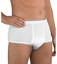 Jockey® Men's Pouch Briefs 3-Pack - White
