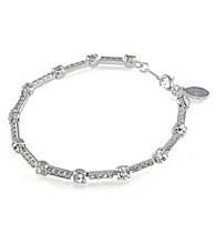 Carolee® Linear Chain Crystal Bracelet