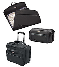 Ricardo Beverly Hills Essentials Black Luggage Collection