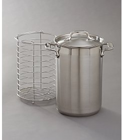 All-Clad® Stainless Steel Asparagus Pot with Steamer Basket & Lid