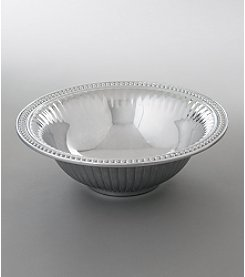 Wilton Armetale® Flutes & Pearls Collection - Medium Round Bowl