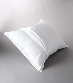 LivingQuarters 250-Thread Count 100% Cotton Pillow Cover