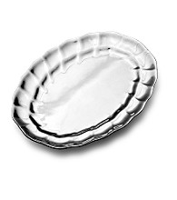 Wilton Armetale® Eddy Collection - Oval Tray
