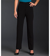 Briggs New York® The Slimming Solution™ Flat-Front Pants