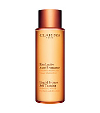 Clarins® Liquid Bronze Self-Tanning for Face and Decollete