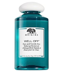 Origins® Well Off® Fast and Gentle Eye Makeup Remover