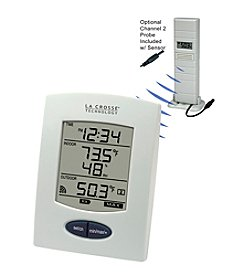 La Crosse Technology® Wireless Thermometer with Sensor Probe